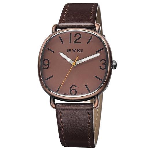 Analogue Brown Dial Unisex Watch (EYKI COFFEE01)