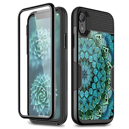 Amazon.com: Funda para iPhone XR, [protector de pantalla ...