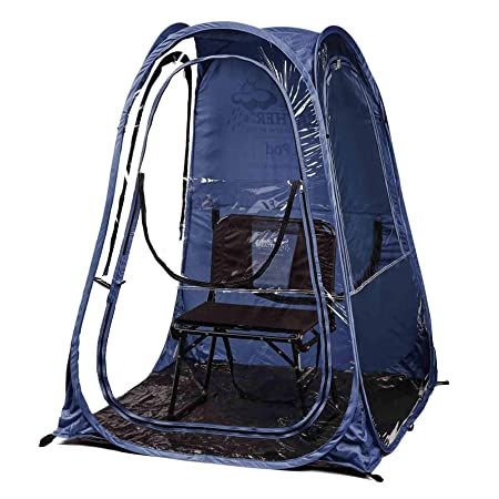 Under the Weather XLPod 1-Person Pop-up Weather Pod. The Original, Patented WeatherPod