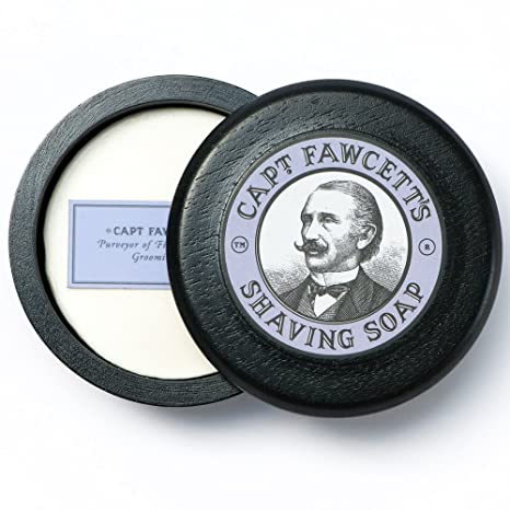 Review Captain Fawcett's Shaving Soap