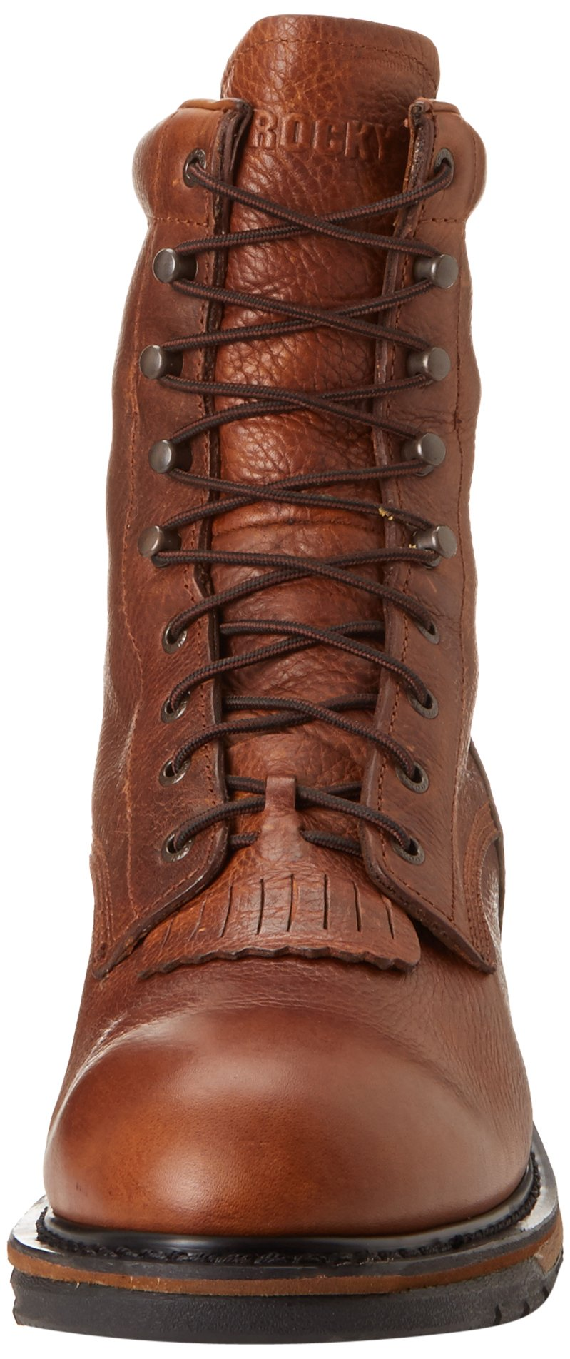 Men's Rocky 8'' EH Ride Lacer Work Boots BROWN 7.5 W by Rocky (Image #4)