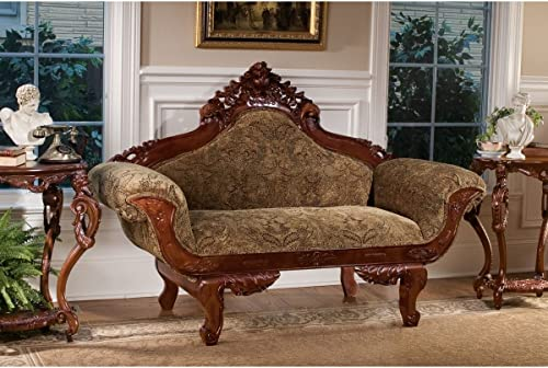 Design Toscano Beauchamp Victorian Parlor Settee