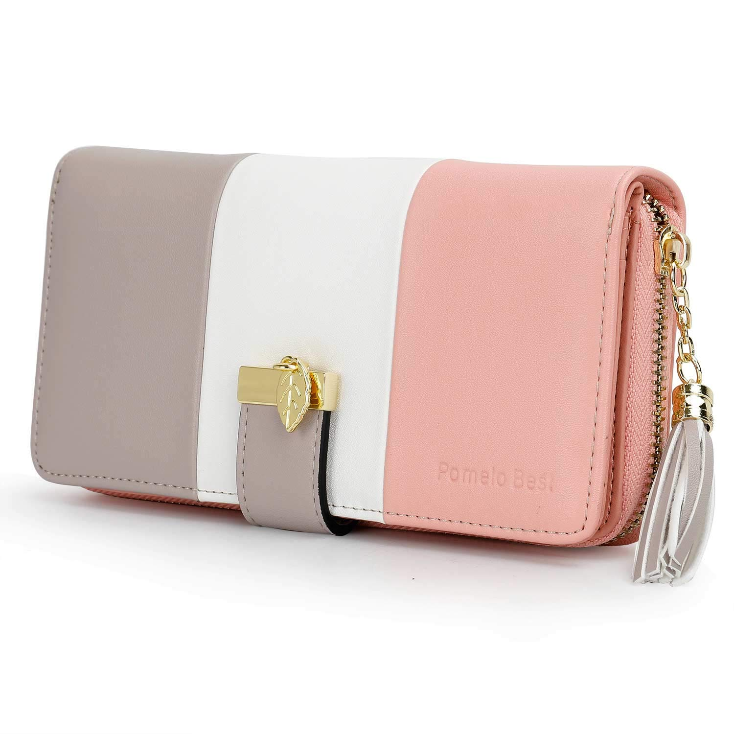 Wallets for Women with Multiple Card Slots and Roomy Compartment by Pomelo Best