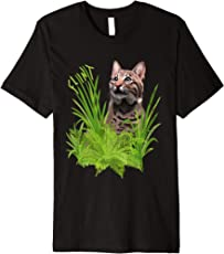Flint the Curious Bobcat Premium T-Shirt