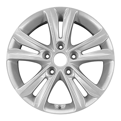 amazon new 16 replacement rim for hyundai sonata 2011 2014 Hyundai Sonata White new 16 quot replacement rim for hyundai sonata 2011 2014 wheel 70802