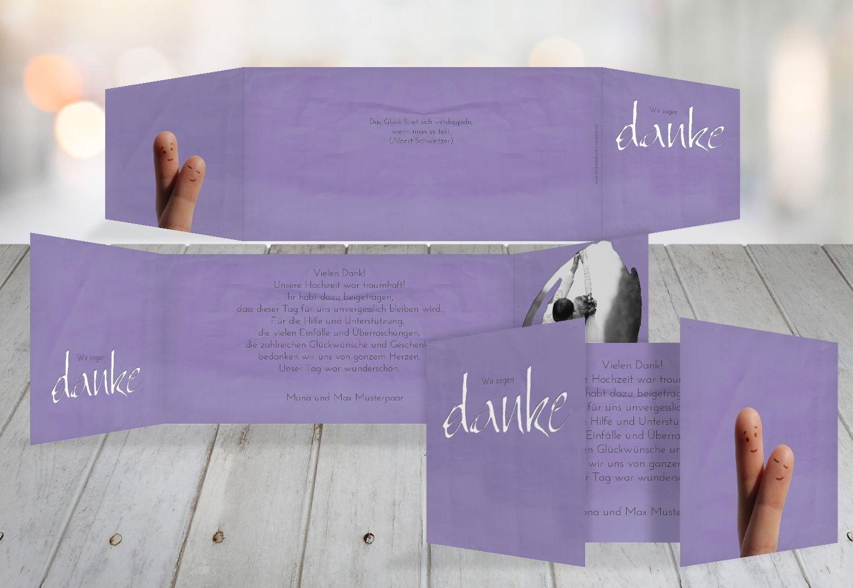 Kartenparadies Danksagung für Hochzeitsgeschenke Hochzeit Dankeskarte Fingerpaar, hochwertige Danksagungskarte Hochzeitsglückwünsche inklusive Umschläge   10 Karten - (Format  215x105 mm) Farbe  HellRosa B01MS9TP7D | Spielzeugwelt, frö
