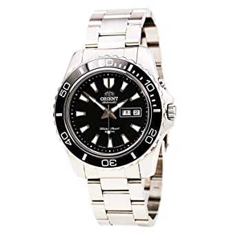 orient men s black mako xl automatic dive watch cem75001b amazon orient men s black mako xl automatic dive watch cem75001b