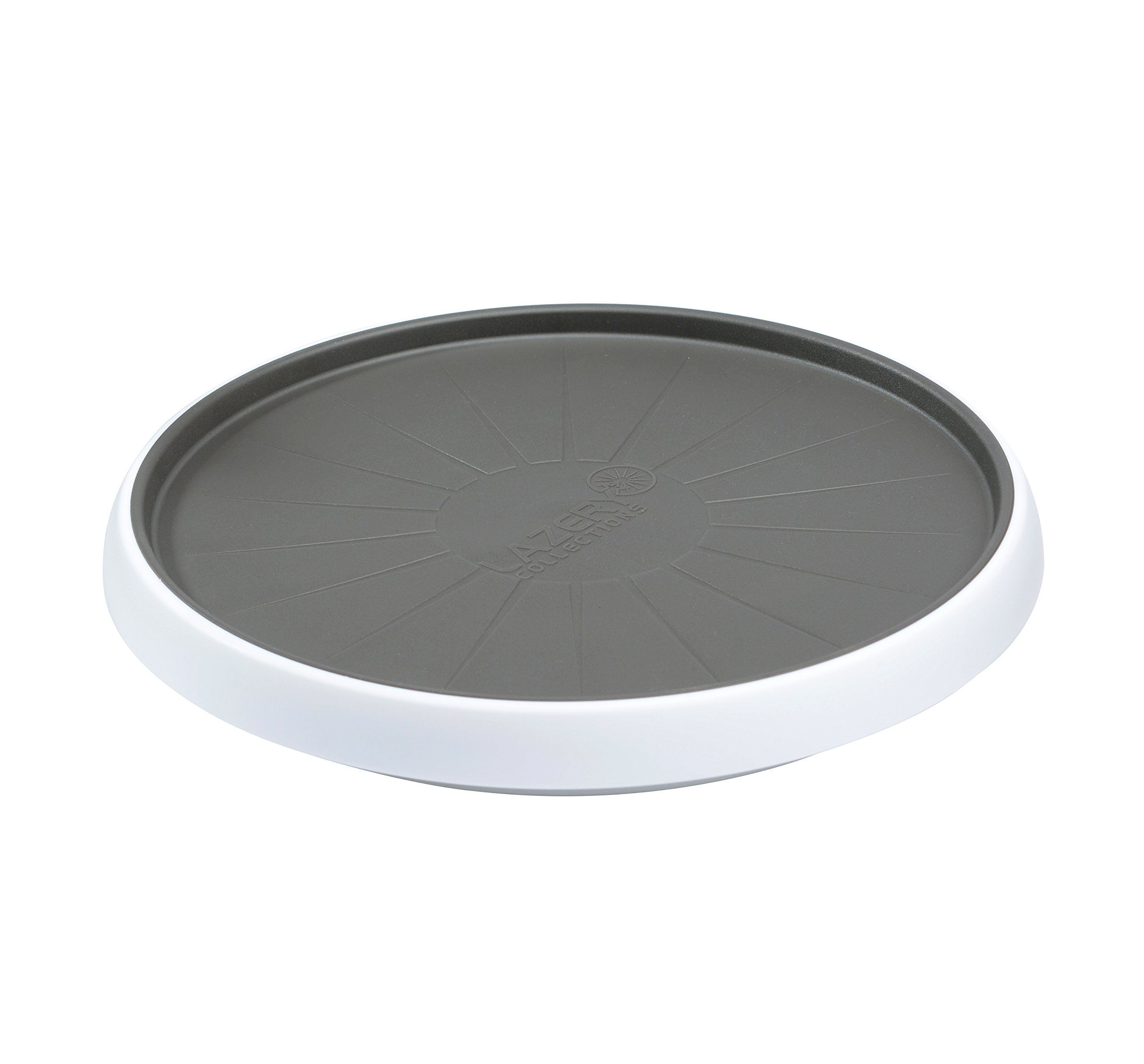 Lazery Collections Gripped Bottom Cabinet Turntable Lazy Susan (12-Inch)