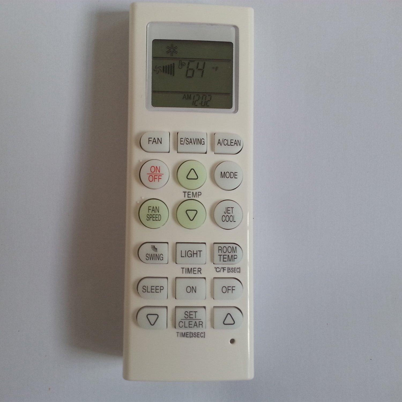 Generic de repuesto compatible con LG ventana montado en la pared aire acondicionado port/átil mando a distancia para mando a distancia n/úmero de modelo akb73215509/akb73315608/akb73315607/akb73315611/akb73315605/akb73