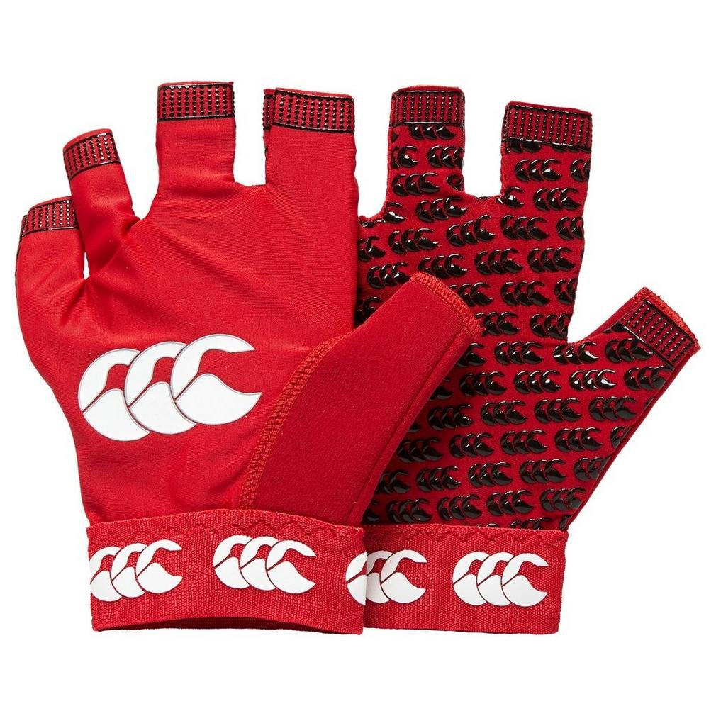Canterbury Pro Grip Rugby Mitts Accesorios Rugby Accesorios Rugby Negro, Rojo, M Niã±Os
