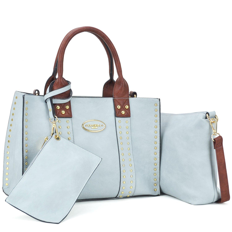 Women Designer Vegan Leather Handbags Fashion Satchel Bags Shoulder Purses Top Handle Work Bags KC-KK-13-0620W-GN