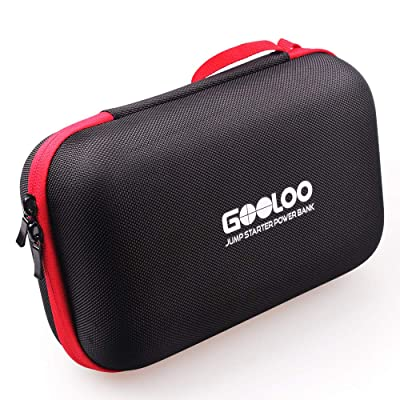 GOOLOO Portable EVA Travel Carring Protective Case for 12V Jump Starter Car Gadgets Tool Storage Box: Automotive