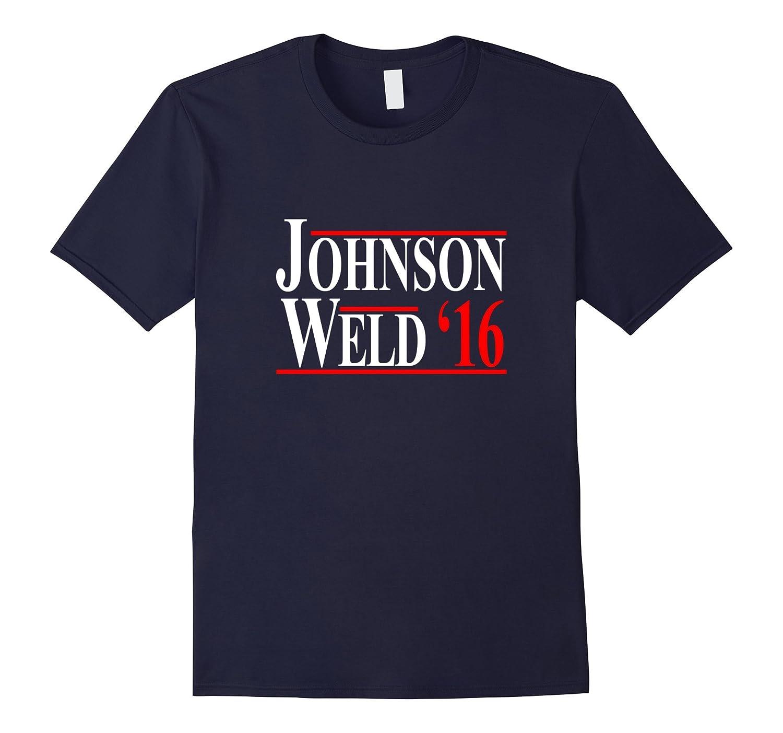 Gary Johnson Bill Weld 2016 T-Shirt - Libertarian Party-BN
