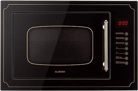 Klarstein Victoria 25 - Microondas, Diseño retro, 25 litros ...
