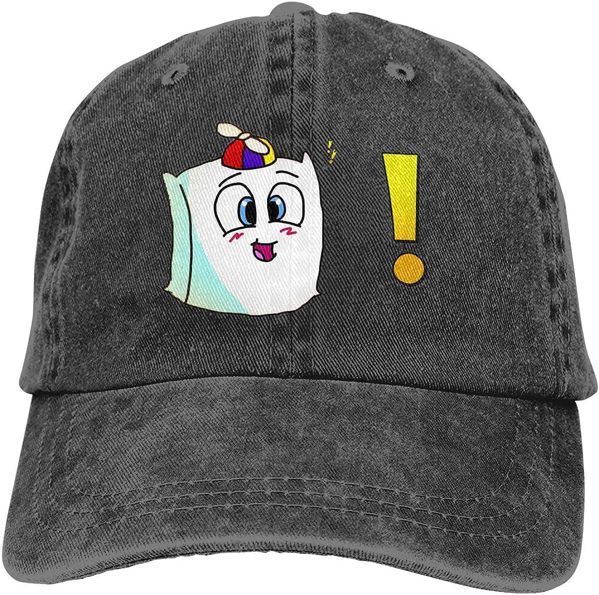 AP.Room Smii7y Adult Cap Adjustable Cowboys Hats Baseball Cap Adjustable Athletic Hat