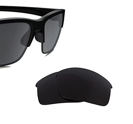 11baaa3976d Best SEEK Replacement Lenses for Oakley Sunglasses THINLINK Black  Amazon.co .uk  Clothing