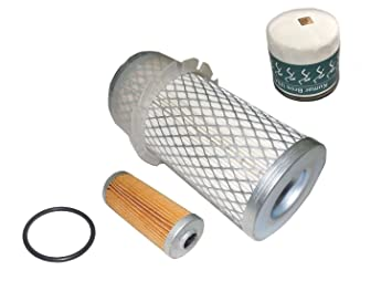 Amazon com: New Yanmar Tractor Filter KIT AIR/FUEL/OIL YM187