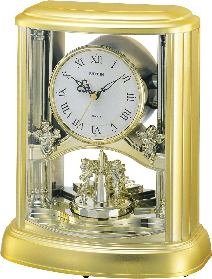 Rhythm Angel Mantel Clock