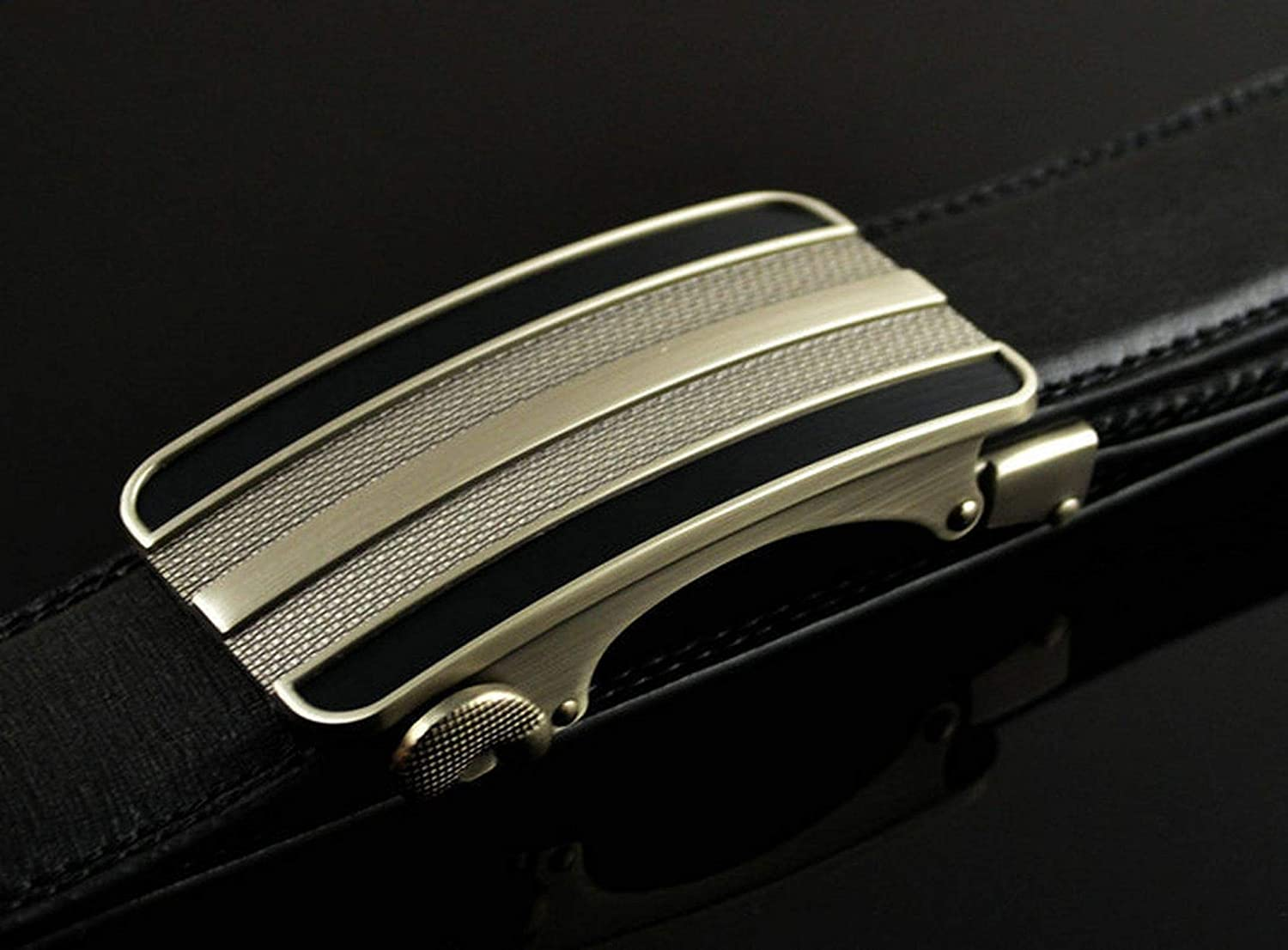 Men Fashion Metal Buckle Luxury Belt Men Business Alloy Buckle Belts Businessman
