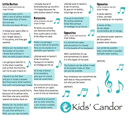 Amazon.com: Kids Candor Buttons and Closings | Botones y Cierres CD: Toys & Games