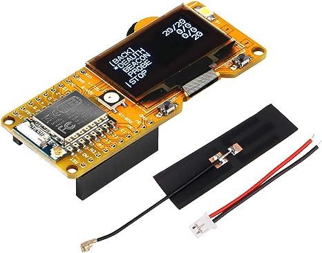 Makerhawk ESP8266 DSTIKE WiFi Deauther 1.3 Pulgadas Pantalla OLED V2.0.5 Software a Bordo y Antena de 2dB, protección contra Cortocircuito, ...