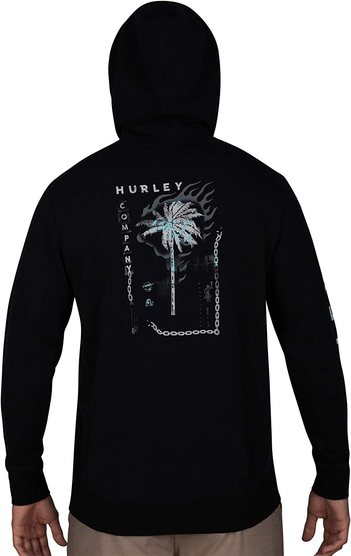 Top Uomo Hurley M Burn Baby Fleece Pullover