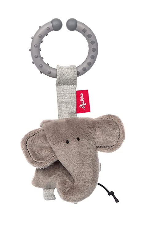 Sigikid 42348 - Colgante de elefante, color gris: Amazon.es ...