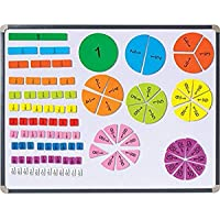 Didax Educational Resources 211306 Magnetic Fraction Tiles