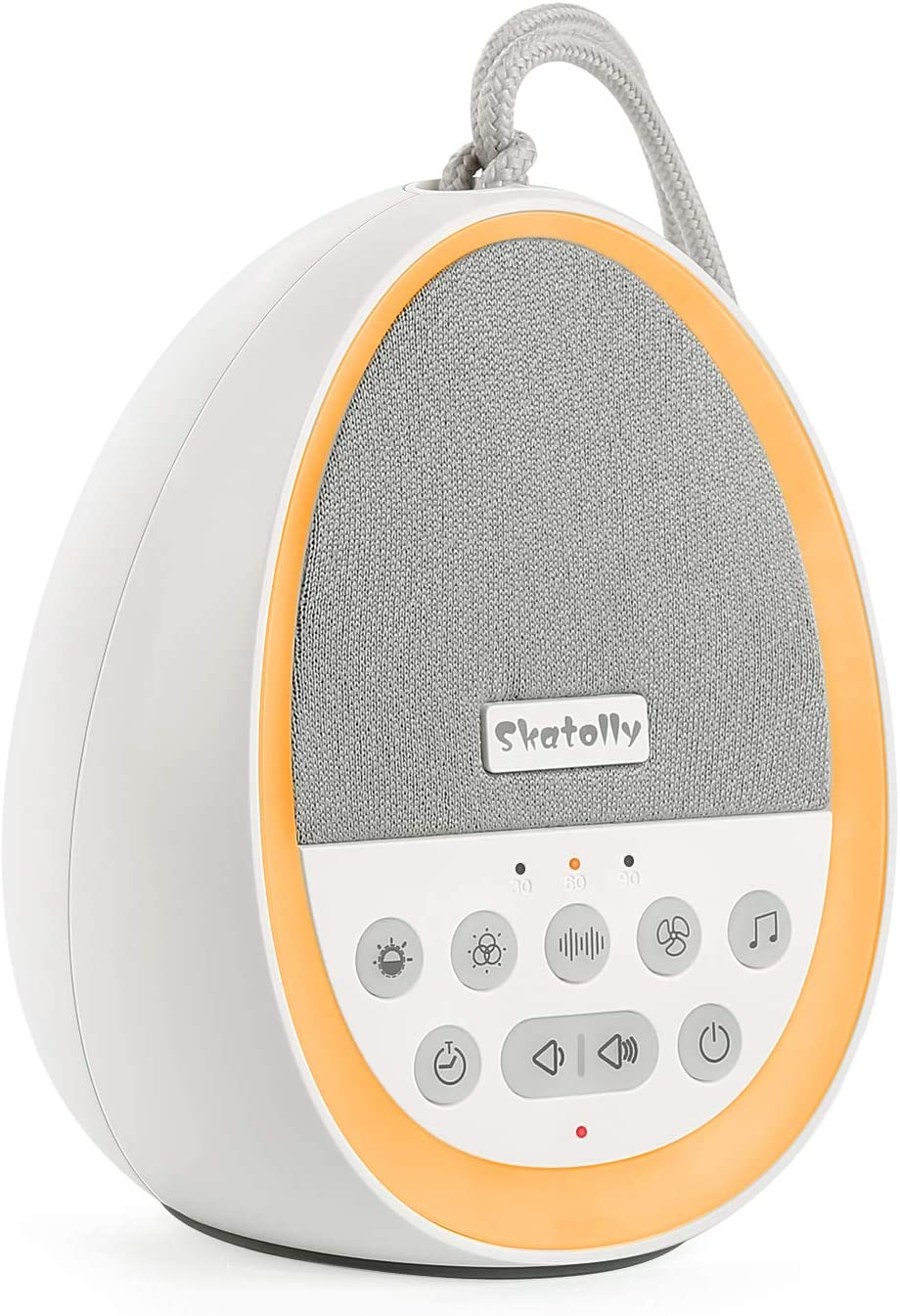 Skatolly White Noise Machine, Sleep Sound Machine with Baby Night Light for Sleeping, 29 High Fidelity Nature Sounds, Sleep Sound Therapy for Home, Office, Travel, Baby, Kids and Adults