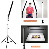 "Abeststudio Photo Studio Continuous Lighting Kit 32"" LED 60PCS 5500K Dimmable (1% to 100%) Adjustable Softbox Studio Light + 200cm Light Stand+ Carry Bag"