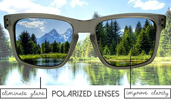fd52d8ca7d LenzFlip Lenses Compatible with Oakley FIVES Squared - Brown at Amazon  Men s Clothing store