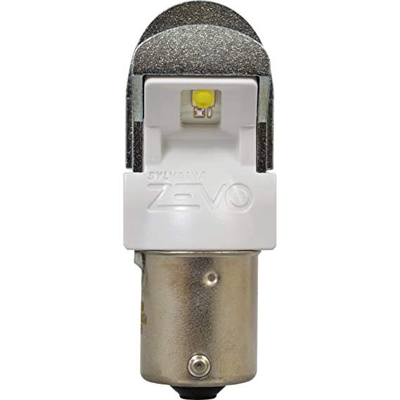 Amazon.com: SYLVANIA ZEVO 1156 White LED Bulb, (Contains 2 Bulbs): Automotive