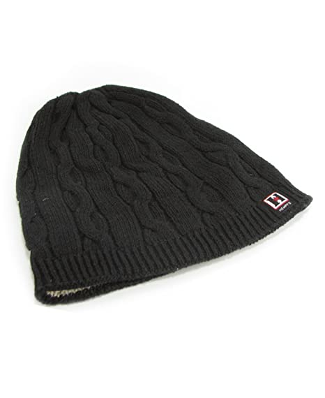 154432003f1 Amazon.com   Hemp Classic Cable Beanie (Black)   Sports   Outdoors
