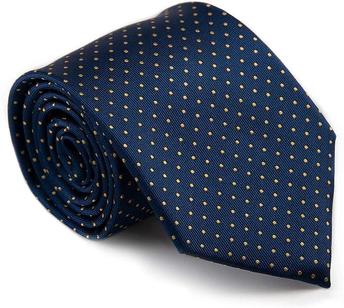 GENTSY Conjunto de corbata y pañuelo para hombre - K55/P10: Amazon ...