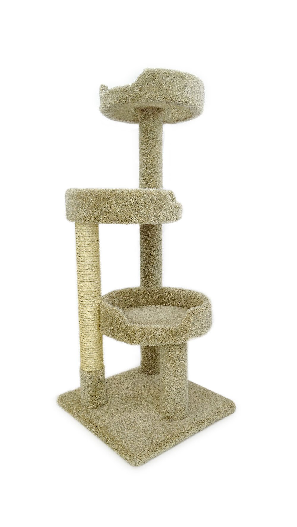 New Cat Condos Premier Kitty Pad Cat Tree, Beige