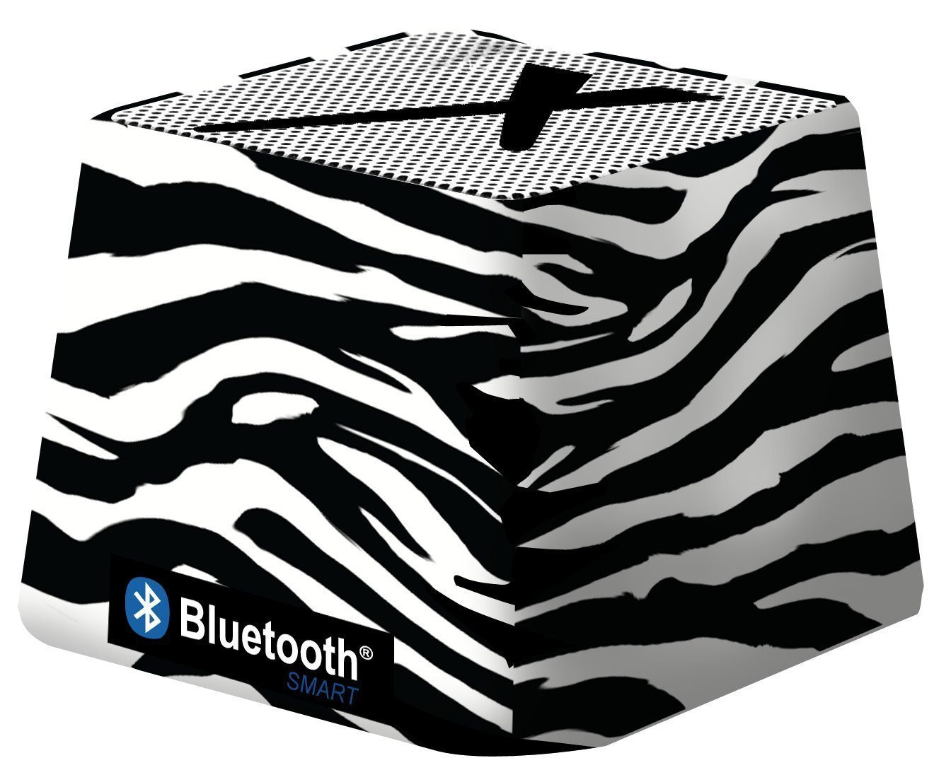 Xit Audio Bluetooth Wireless Mini Portable Speaker System for iPods, iPhones, iPads, Androids, and MP3 Players (Zebra)