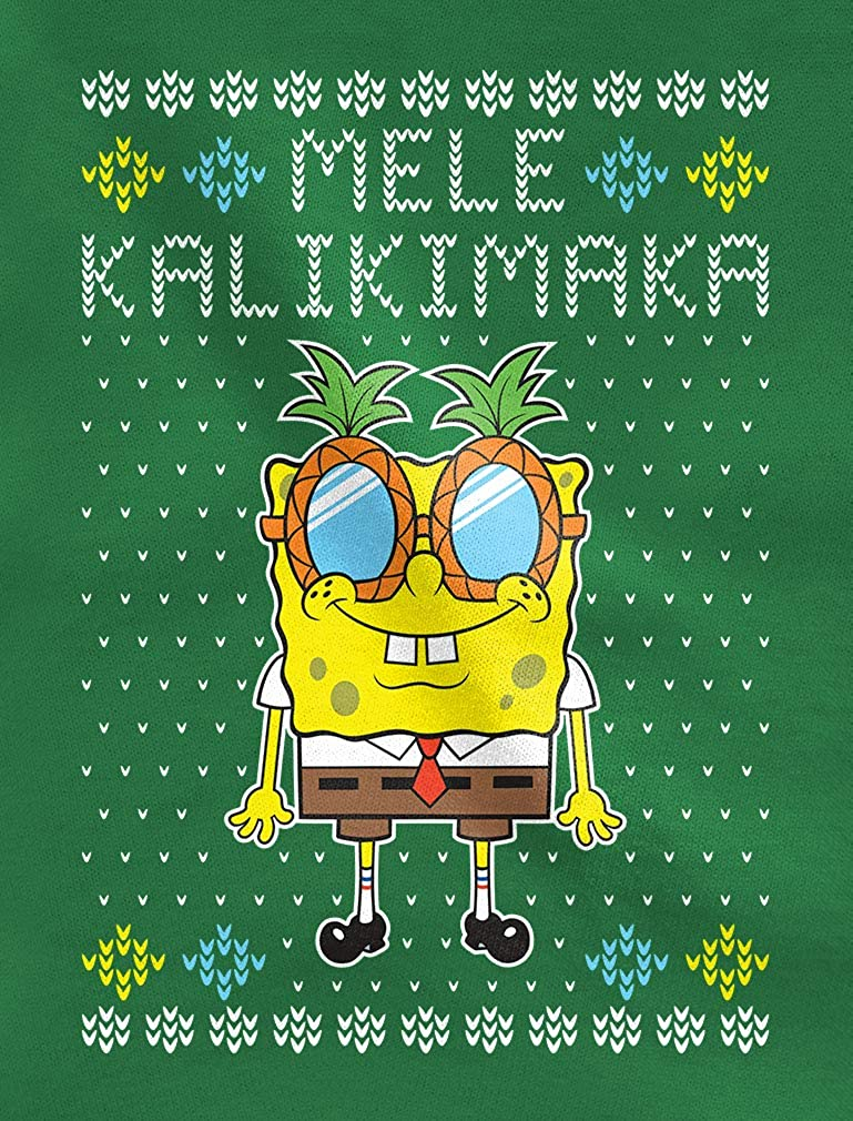 Ugly Christmas Mele Kalikimaka Spongebob Official Toddler//Kids Sweatshirt