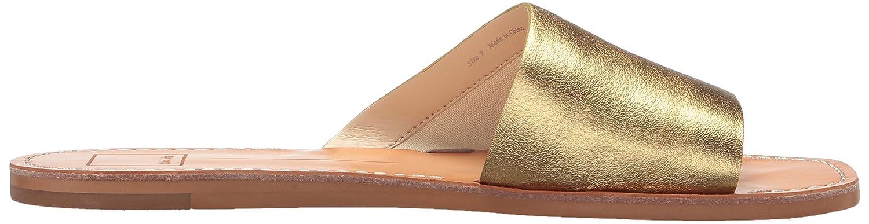 Dolce Vita B0784HHQN7 Women's Cato Slide Sandal B0784HHQN7 Vita 6.5 M US|Gold Leather c49e12