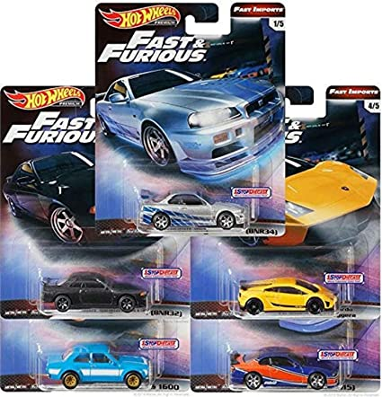 Hot Wheels Nissan Silvia 240SX S14 Fast And Furious GBW75-956B 1//64