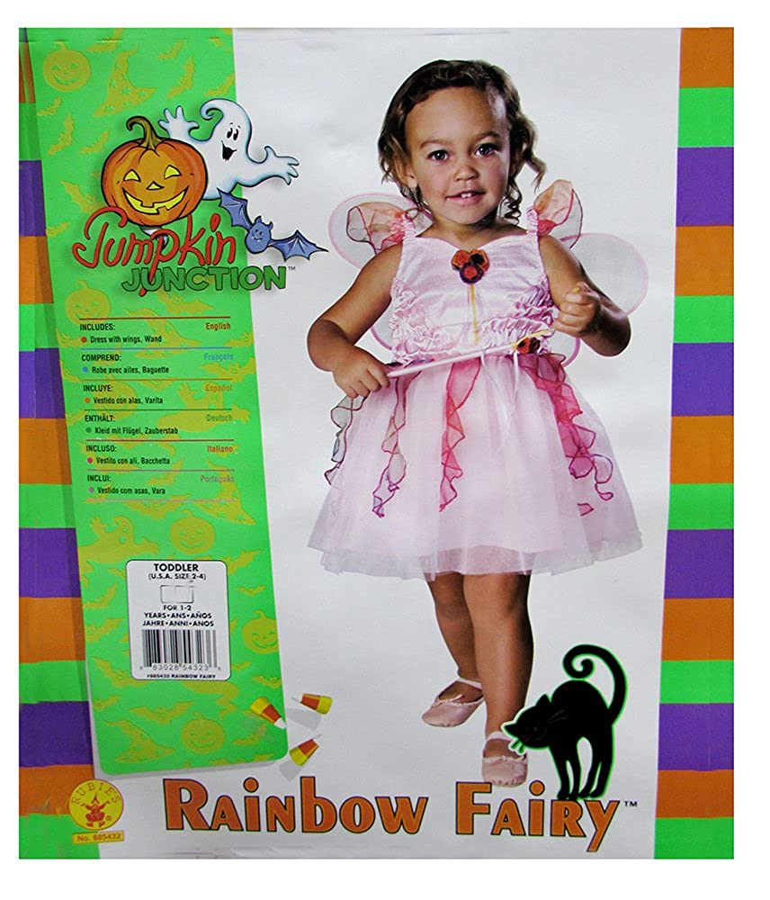 43ab1374e145 Amazon.com  Pink Fairy Costume  Toddler s Size 2-4  Toys   Games