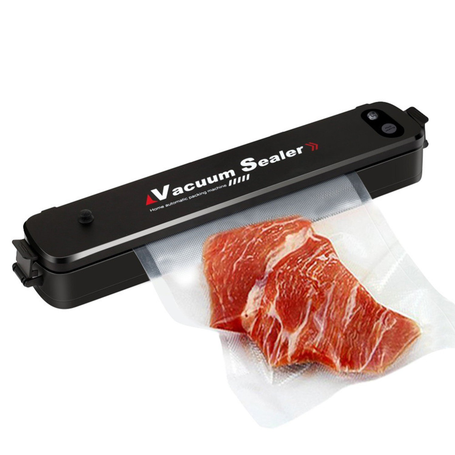 Automatical 90W Household Mini Vacuum Sealer Food Preservation Machine + 15 Sealing Bags Kitchen Tool