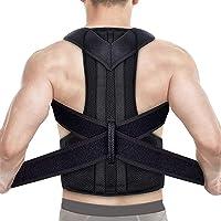 Back Brace Posture Corrector, Shoulder Posture Correction for Improve Posture Provide and Back Pain Relief, Adjustable…