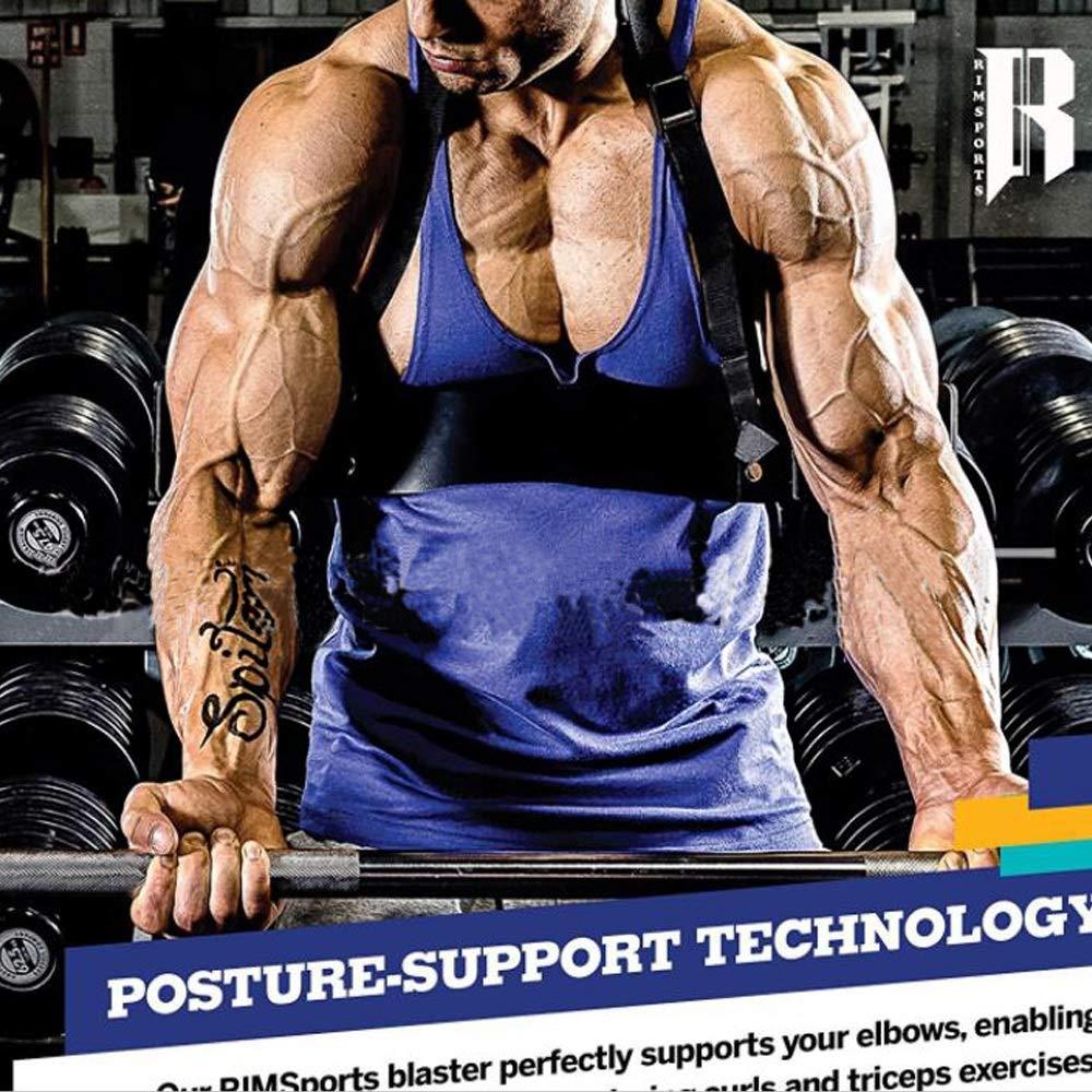 Brazo Blaster para bíceps rizos, Aislante de Entrenamiento de tríceps Muscle Bomber para bíceps, Brazo Tríceps Apoyo Palet Muscle Brazo Máquinas para ...
