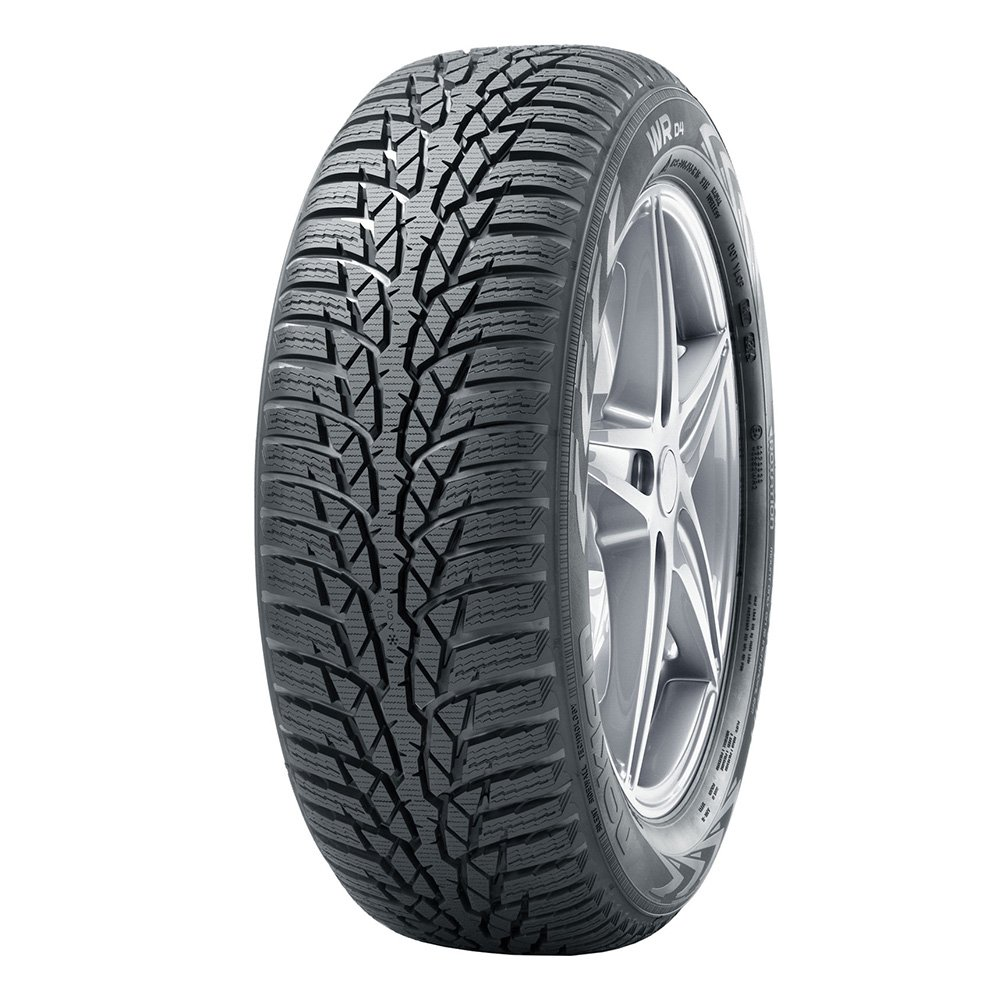 Nokian WR D4 - 205/60/R16 96H - B/A/69 - Winter Tire WR D4 XL