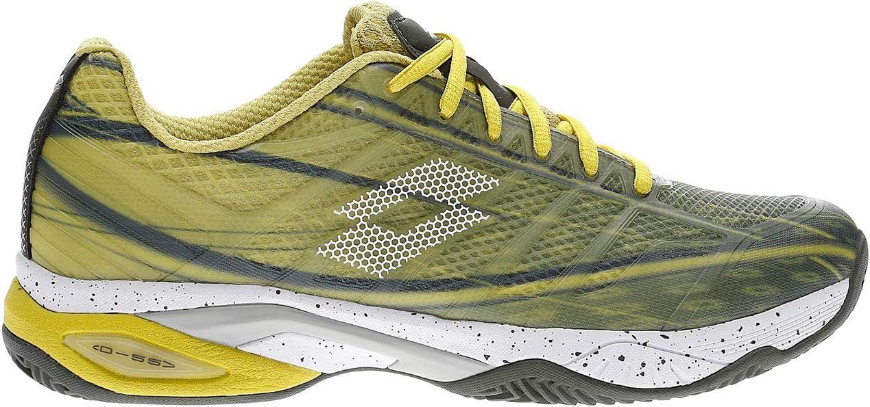 Lotto Mirage 300 Clay Court Shoe Men Lemon