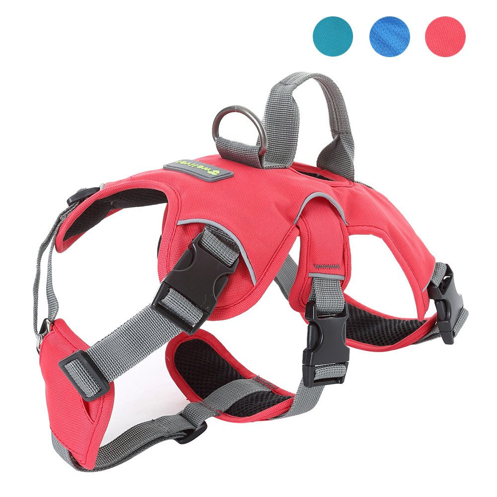 Wellver Pet Vest Harness Dog Halter Harness With Handle, Small