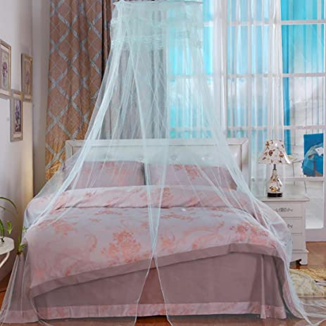 Bedroom Mosquito Net Vibola Home Canopies Bed Canopy Netting Curtain Midges Insect Mesh Mosquito Net ( & Amazon.com: Bedroom Mosquito Net Vibola Home Canopies Bed Canopy ...