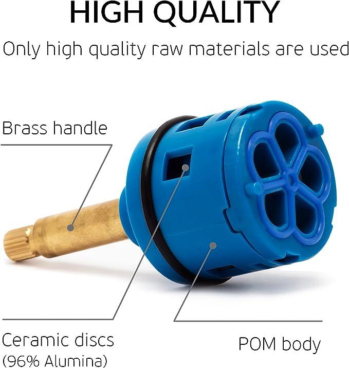 Cartucho universal recambiable de latón para el mezclador de Rolli ...
