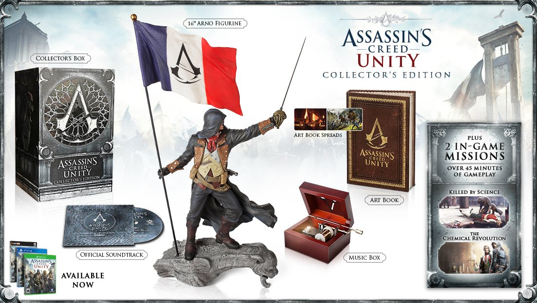 Amazon Com Assassin S Creed Unity Collector S Edition