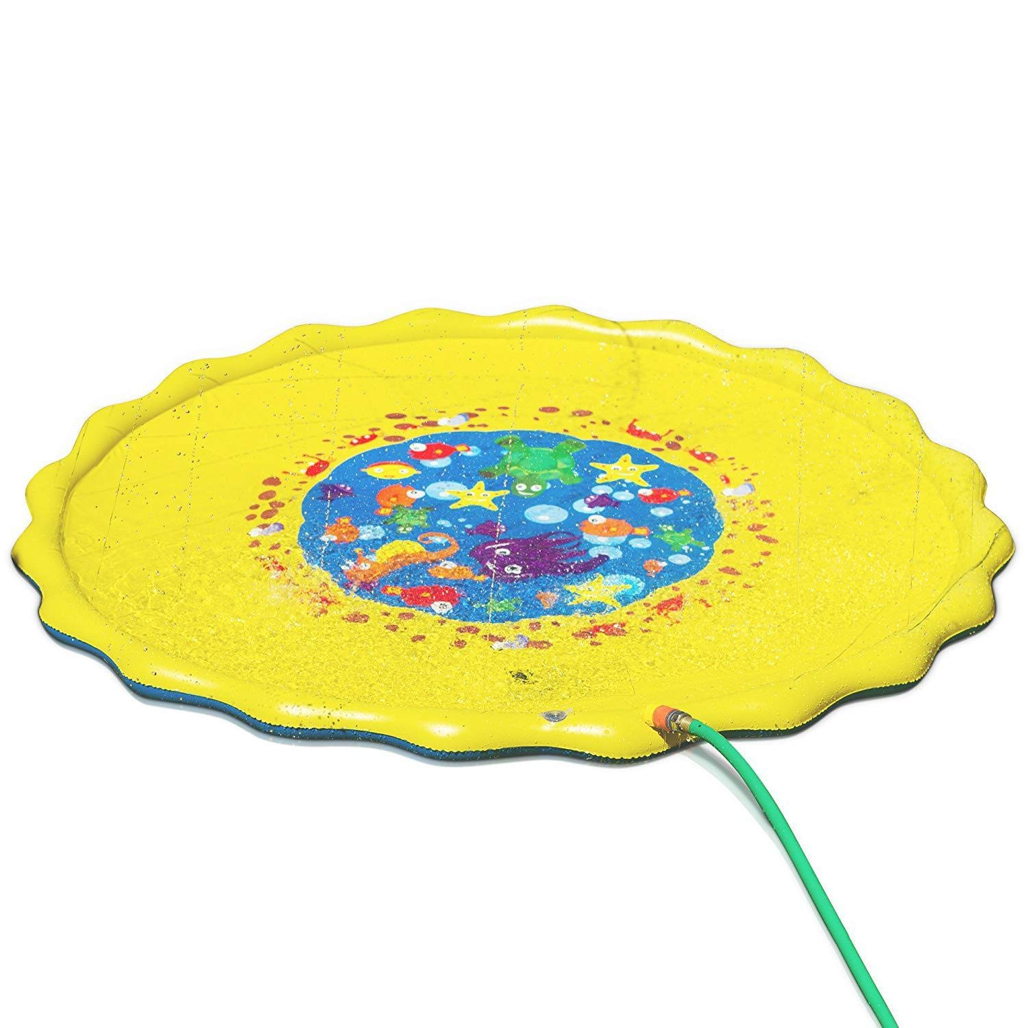 PinShang 170CM Diameter Kids Water Spraying Game Mat Toy by PinShang (Image #1)